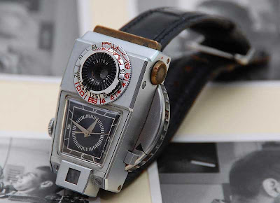 Shoot to Kilfitt - 1969 Prototype Camera-Watch Sells for $60,000!