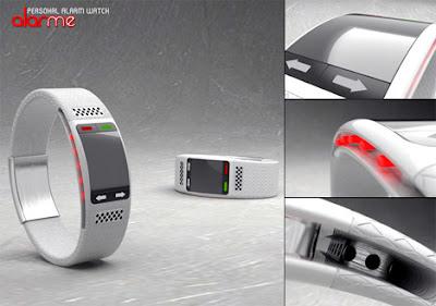 The AlarMe - Personal Wrist Alarm Concept