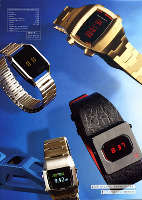 Black LIP Diode LED in new GQ Magazine Digital Watch Feature!