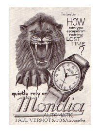 Mid-Century Watch Ads 1946-1959