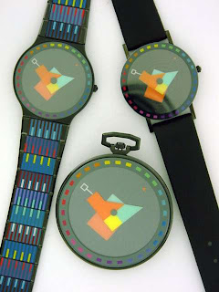 Agam's 80s Kinetic Op-art Watches for Movado
