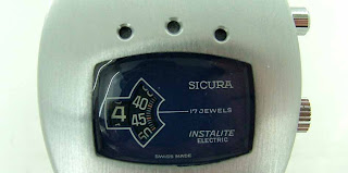 Swiss Digital Envy - 1974 Sicura Instalite Electro-mechanical Jump Hour