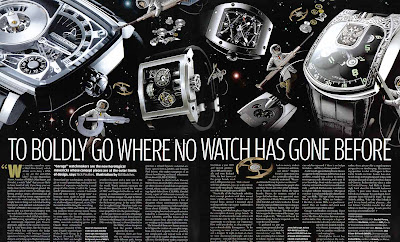 TO BOLDLY GO WHERE NO WATCH HAS GONE BEFORE!