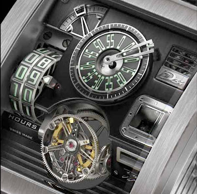 Concept Turned Reality - Vulcania by HD3 Complication