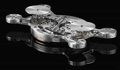 X-Ray of the MB&F Horological Machine #2