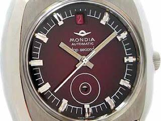 Flashing Dot 1968 Mondia 'Top Second' Wristwatch