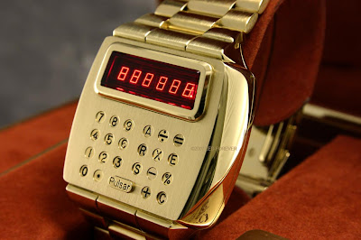 Vintage Watching #2 - 1975 Solid Gold Pulsar LED Calculator Watch