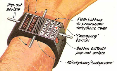 Satellite Telephone Wristwatches of 1979