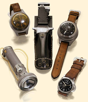 1941 Officine Panerai Commando Watch Set