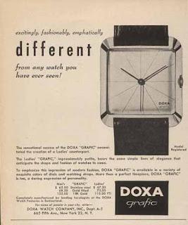 Doxa Grafic Over Time 1957-2007