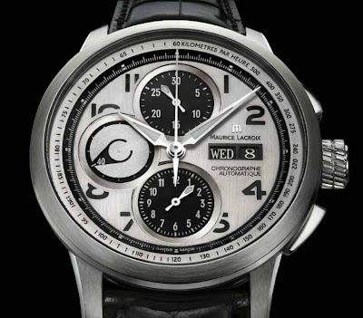 A Blur of Cool - Maurice LaCroix Pontos Décentrique GMT & New Chronographs