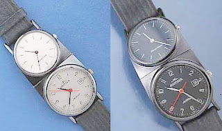 Two Timing Bastards - Double Dial Dual Time-Zone Watches