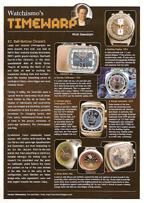 Bell Bottom Chronographs - Watchismo Timewarp #2
