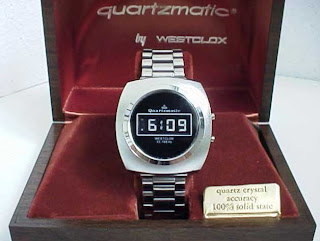 The Rarest Digital Watches - 1972 Dynamic Scattering LCD