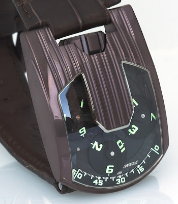 Urwerk on Steroids - Titanium Aluminum Nitrade Coated 103.08