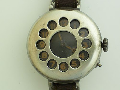 World War I Government Issued  Jaeger LeCoultre Military Grilled Watch