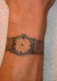 Tattoo Wristwatch = Bad Idea