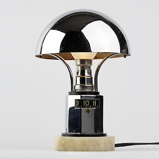 At the Museums -1660 Renaissance Crystal Neck Watch & 1930s Art Deco Digital Lamp