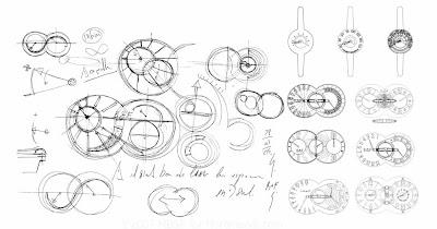The Earliest Designs of MB&F's HM1 - Birth of the Horological Machine