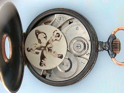 120 Year Old Naked Ladies - 1890 Erotic Pocket Watch