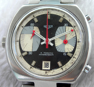 Vintage Watching - LIP Sector Retrograde, Unusual Heuer, and a Sandoz Mystery Dial