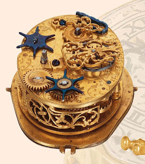 HORROR-OLOGY - 1610 Mechanical Screaming Biting Skull Clock with Animated Snakes for Eyeballs!