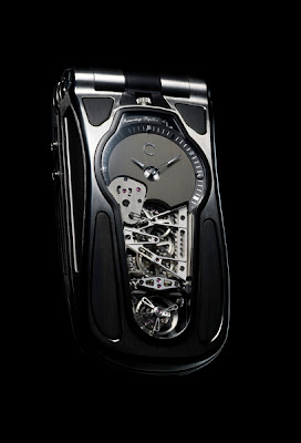 CELSIUS X VI II MICRO-MECHANICAL REMONTAGE PAPILLON TOURBILLON MOBILE PHONE - APPROX $275,000 EACH