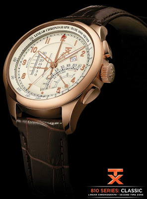 TX Introduces New Classic 610 Fly-Back Chronograph, 310 Perpetual Calendar and 810 Linear Chronograph