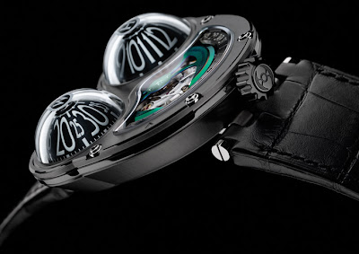 The Horological Machine No 3 FROG from MB&F - Maximilian Büsser & Friends