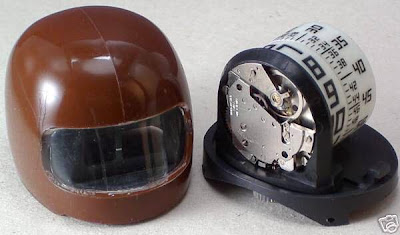 Vintage Watching - Two Very Rare 1970 Helmet Jump Hour Watches