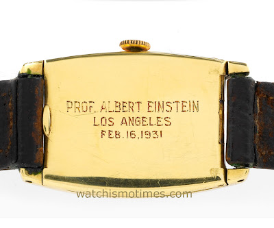 TIME IS RELATIVELY FOR SALE - ALBERT EINSTEIN'S WATCH UP FOR AUCTION!