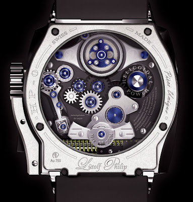 Helicoidal Timepieces of Philip Lütolf