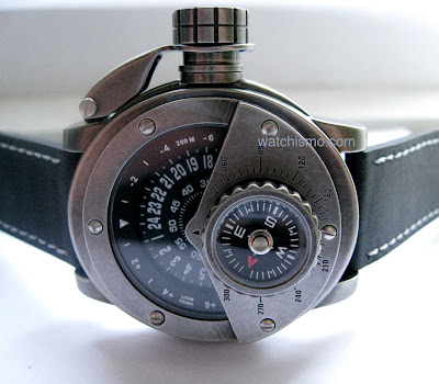 Retrowerk Watches Riveted Piston Pumping Portholed Multi-Level Jump Hour Retrograde Watches of Germany - Affordable and High Quality Steampunk Watches