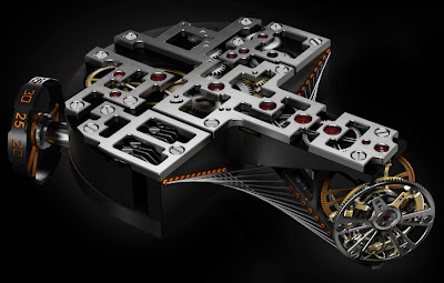 UNVEILED - Concord C1 Quantum Gravity Aerial Bi-Axial Tourbillon with Liquid Vertical Power Reserve