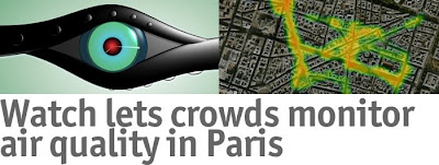Watch Lets Crowds Monitor Air Quality in Paris