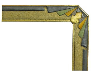 Frame Notes Art Deco Picture Frame