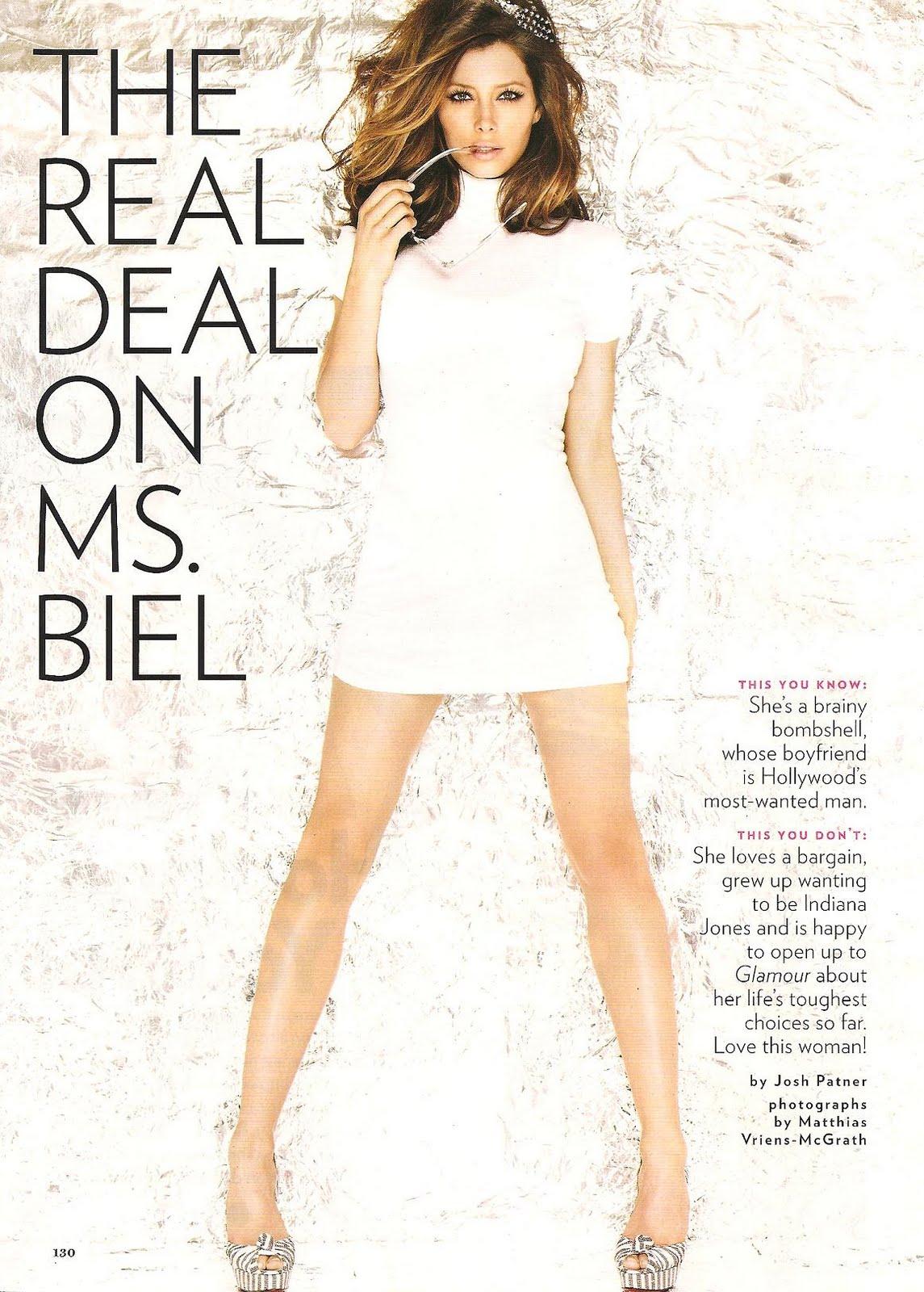architec and home: jessica biel glamour magazine (july 2010)