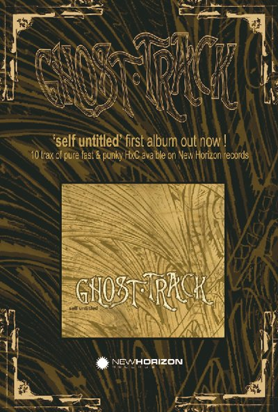 Ghost Track - Flyer promo