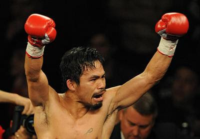 Manny Pacquiao wins over Clottey
