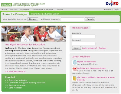 LRMDS Learning Resource Management And Development System