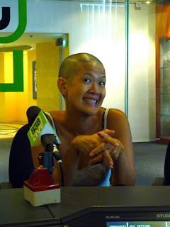 The Living Room: Actress Karen Tan Shaves for Hair for Hope