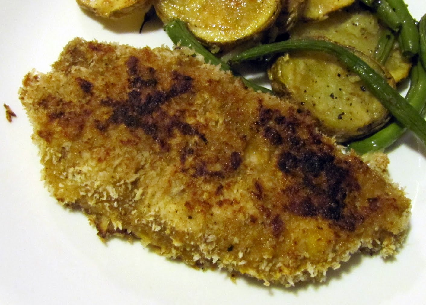 Smells Like Food in Here: Spiced Panko-Crusted Pork Chops