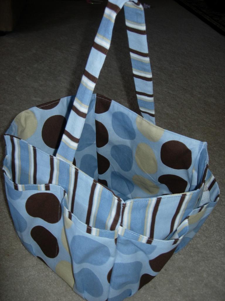 Blueeyedbaby Designs Diaper Caddy