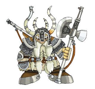 hablemos de criaturas mitologicas! Dwarf1