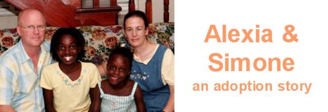 Alexia & Simone - an adoption story