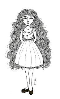 Louise Costa Desenho De Menina
