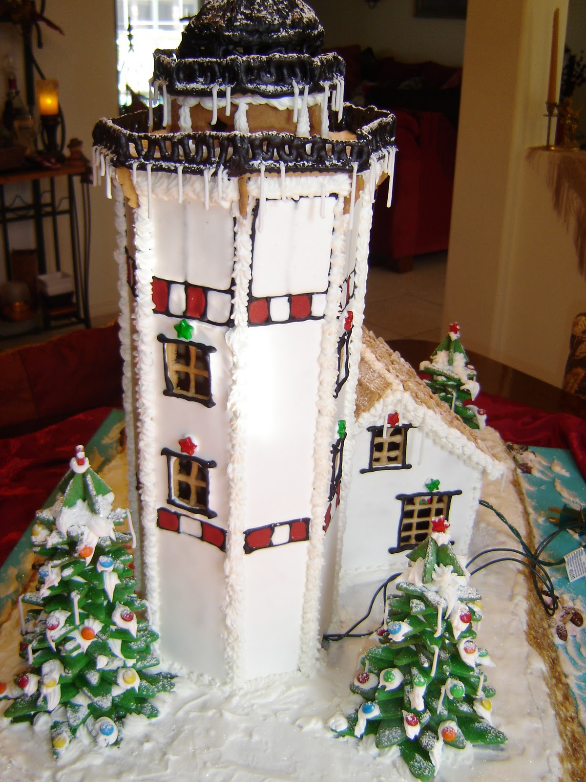Gingerbread Castle Patterns