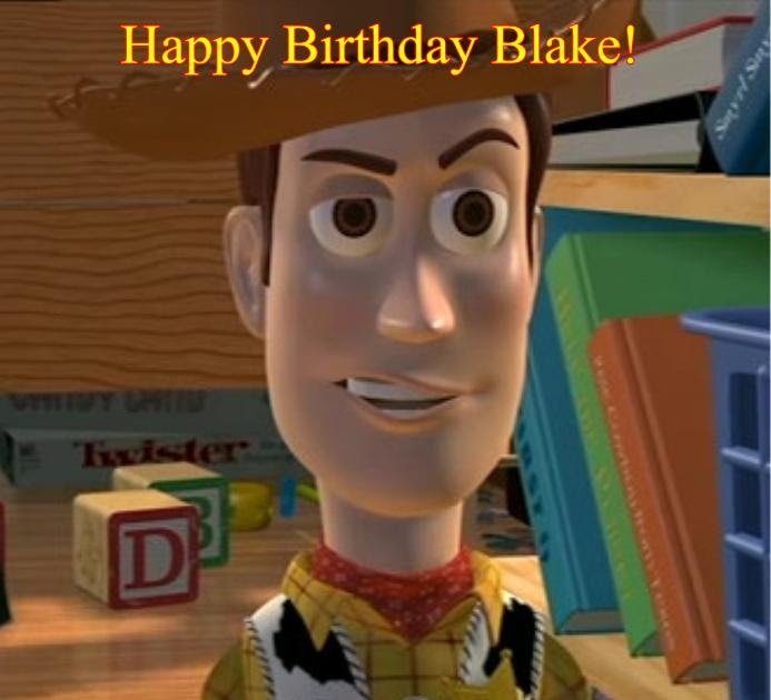 Mark And MS: Happy Birthday Blake