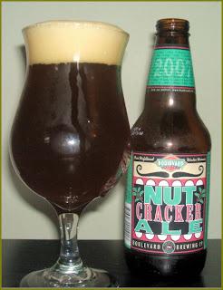 Boulevard Nutcracker Ale - 2007 beerphilosopher.com