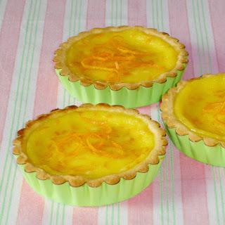 Tartelettes à l'orange à l'ancienne